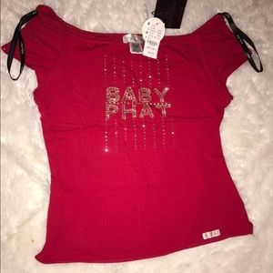 Nwt Baby Phat Jrs Blouse Large